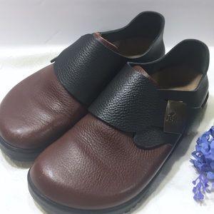 Betula By Birkenstock Black/Brown Shoes Size 40